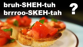 How to pronounce tricky food names