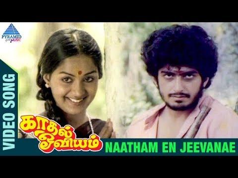 Kaadhal Oviyam Tamil Movie Songs | Naadham En Jeevane Video Song | Radha | Kannan | Ilayaraja