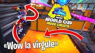 On rage sur le Deathrun de la World Cup avec Michou et Doc Jazy sur Fortnite Créatif !!