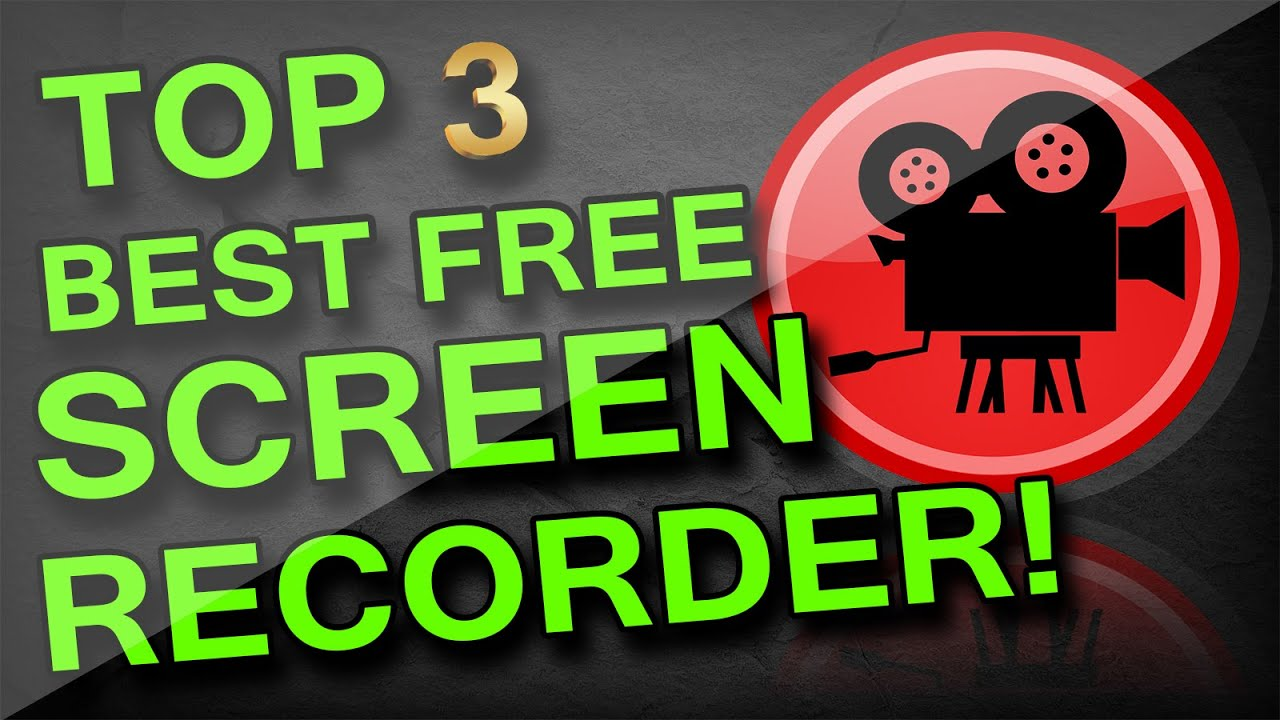 Top 3 Best Screen/Game Recorder for Windows 7,Windows 8(8 1),Windows 10  (PC)(FREE)2016