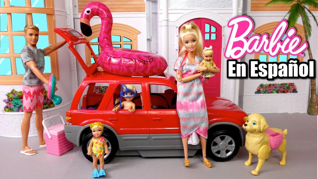 Bebes de Barbie y Ken van a la Playa - Los Juguetes de Titi