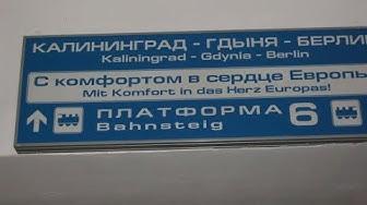 Wohin fährt der Zug Berlin Kaliningrad Berlin?
