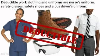 Clothing and Uniforms Deductions