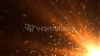 Sun Beam Particles Motion Background