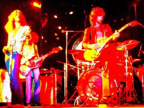 Rock´n Roll de Led Zeppellin. Long Beach Arena en 1972. Brutal.