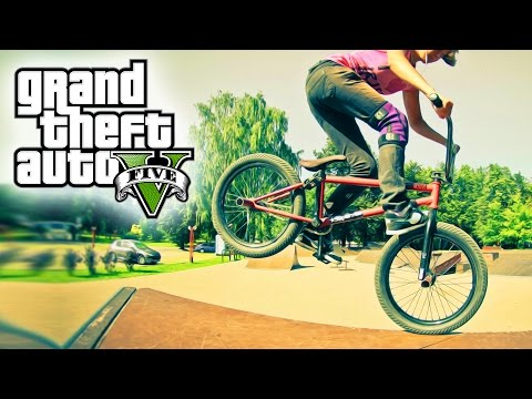 GTA 5 EXTREME BMX FREESTYLE (GTA V BMX Stunts)