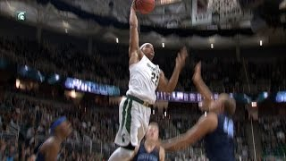 No. 9 Michigan State Defeats Northwood in Exhibition Play, 93-69