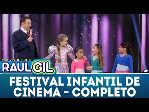 Festival infantil de cinema - Completo | Programa Raul Gil (17/03/18)