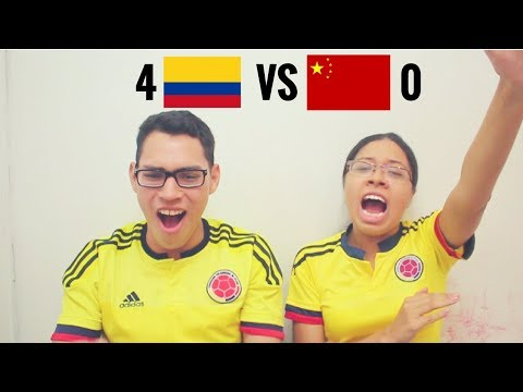 Reacción Colombia vs China 14/11/17 (4-0) Amistoso 2017