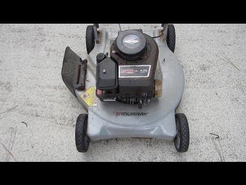Trash Pick Murray 20 Lawn Mower 300 Series B S Engine Emerald Isle Beach Nc Sept 2017