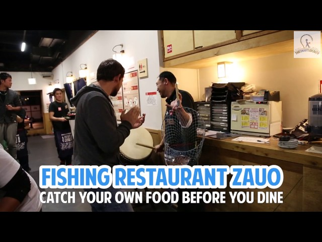 Fishing Restaurant Zauo - Catch your own food in Tokyo!