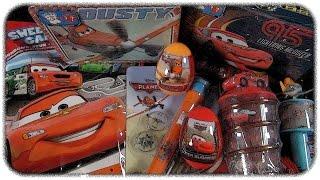 ✪✪ Disney Cars & Planes ✪✪ Surprise Egg & Bag & Lunchbox & Candy Toys [Mega Unboxing]