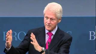 President Clinton at Brookings  Institute