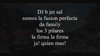 Da Family - Mueve ese boom boom lyrics