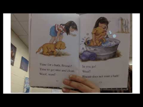 Bathtime for Biscuit read by Erin Plagge - YouTube
