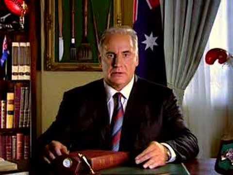 Sam Kekovich Eat Lamb on Australia Day 2006 - YouTube