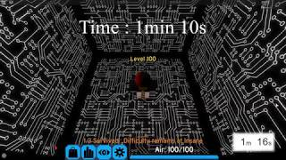 Flood Escape 2 - Dark Sci-Facility 1:10.500 (Solo) {Shortcut-WR}