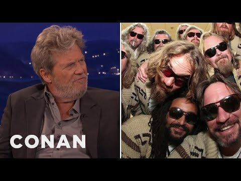 "Jeff Bridges Nearly Passed On ""The Big Lebowski""  - CONAN on TBS"