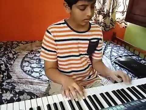 premam movie song malare on keyboard by Yedhukrishnan