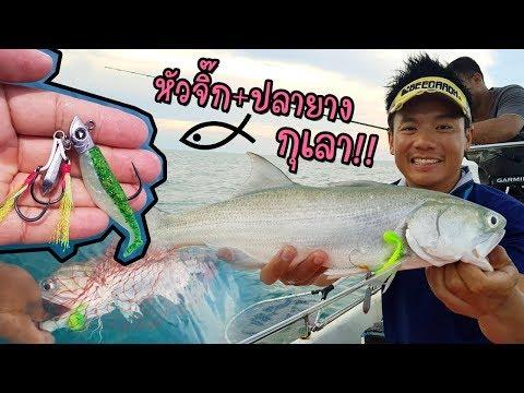 ปลายางหัวจิ๊ก Cast + Jig กุเลา Paddley + Headbutt