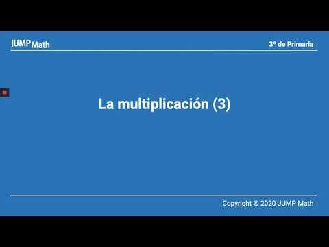 3º. Unidad 3. La multiplicación. Parte III