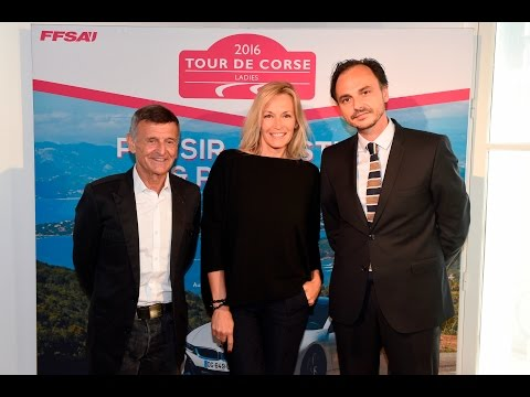 Tour de Corse Ladies : Présentation officielle avec Estelle Lefébure, Marraine