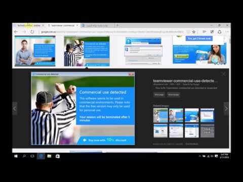 TeamViewer Commercial Use Suspected fix handshake