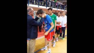 Premiazione trofeo 3 mari 2015 prima classificata Bari