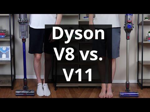 Dyson V8 Vs.  V11: Side-by-Side Dyson Comparison