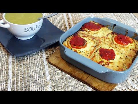 soupe-courgette-kiri-et-croque-monsieur-xxl-idée-de-diner-simple-et-facile