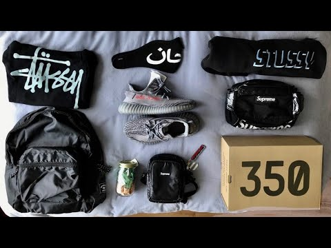 WHAT I GOT FOR MY 12TH HYPEBEAST BIRTHDAY!(YEEZYS,SUPREME,STUSSY AND MORE!)