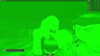 Playing roblox The rake | Using Nightvision + Nightvision's glitch