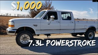 $1,000 AUCTION BUY for Ford F350 7.3L Powerstroke 4X4