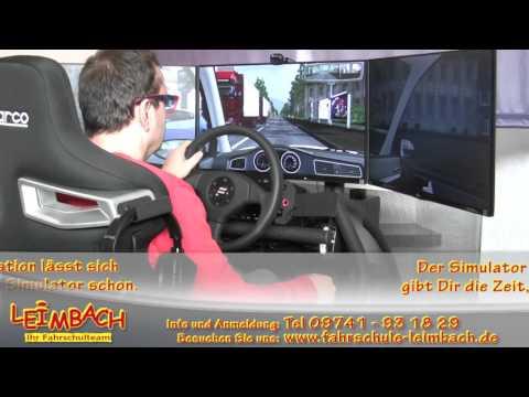 Fahrsimulator Fahrschule Leimbach Bad Brückenau Video 3 von 3