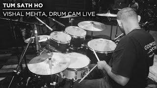vishal-mehta-drum-cam-agar-tum-sath-ho-live-at-qla-use-headphones