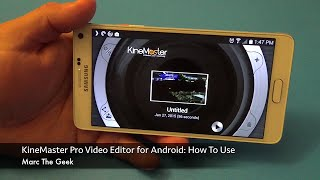 KineMaster Pro Video Editor for Android: How To Use(Here is KineMaster a pro video editor for android devices. This app is free to use. But of course there is a price, I let you know on the video. In this video I show ..., 2015-01-29T00:01:50.000Z)