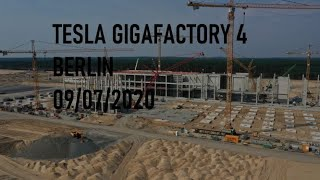 Tesla Gigafactory 4 Berlin | 09/08/2020 | DJI Mavic 2 Pro 4K Video