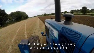 Ploughing with Ford TW30