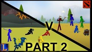 Dota Vs LoL - Episode 2 -