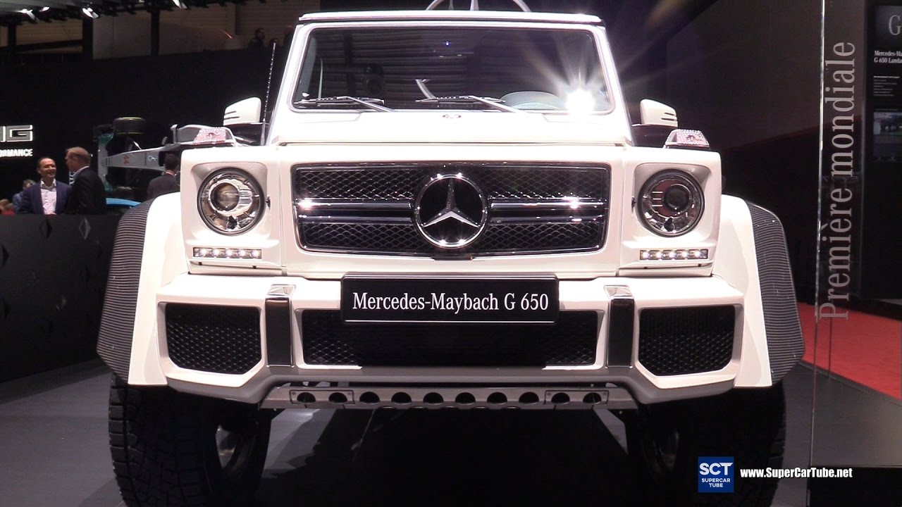2018 Mercedes Maybach G650 Landaulet Exterior Interior Walkaround