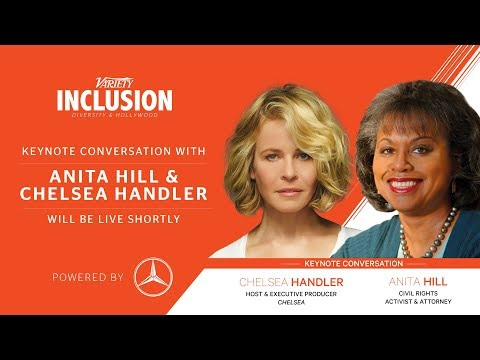 Chelsea Handler interviews Anita Hill at Variety Inclusion
