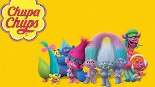 Тролли на русском игрушки Мультик Тролли Распаковка яйца с сюрпризом Чупа Чупс