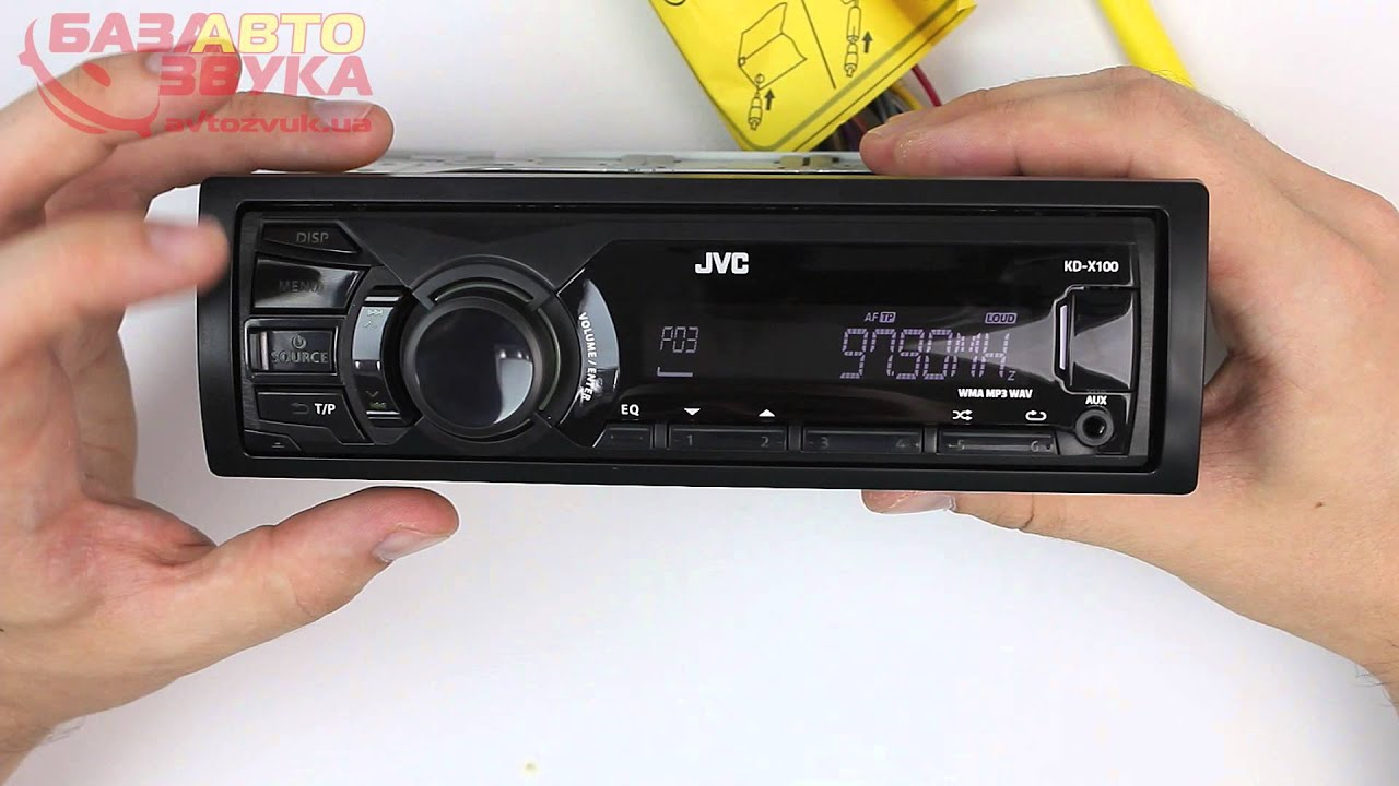 Видеообзор автомагнитолы JVC KD-R521 - YouTube
