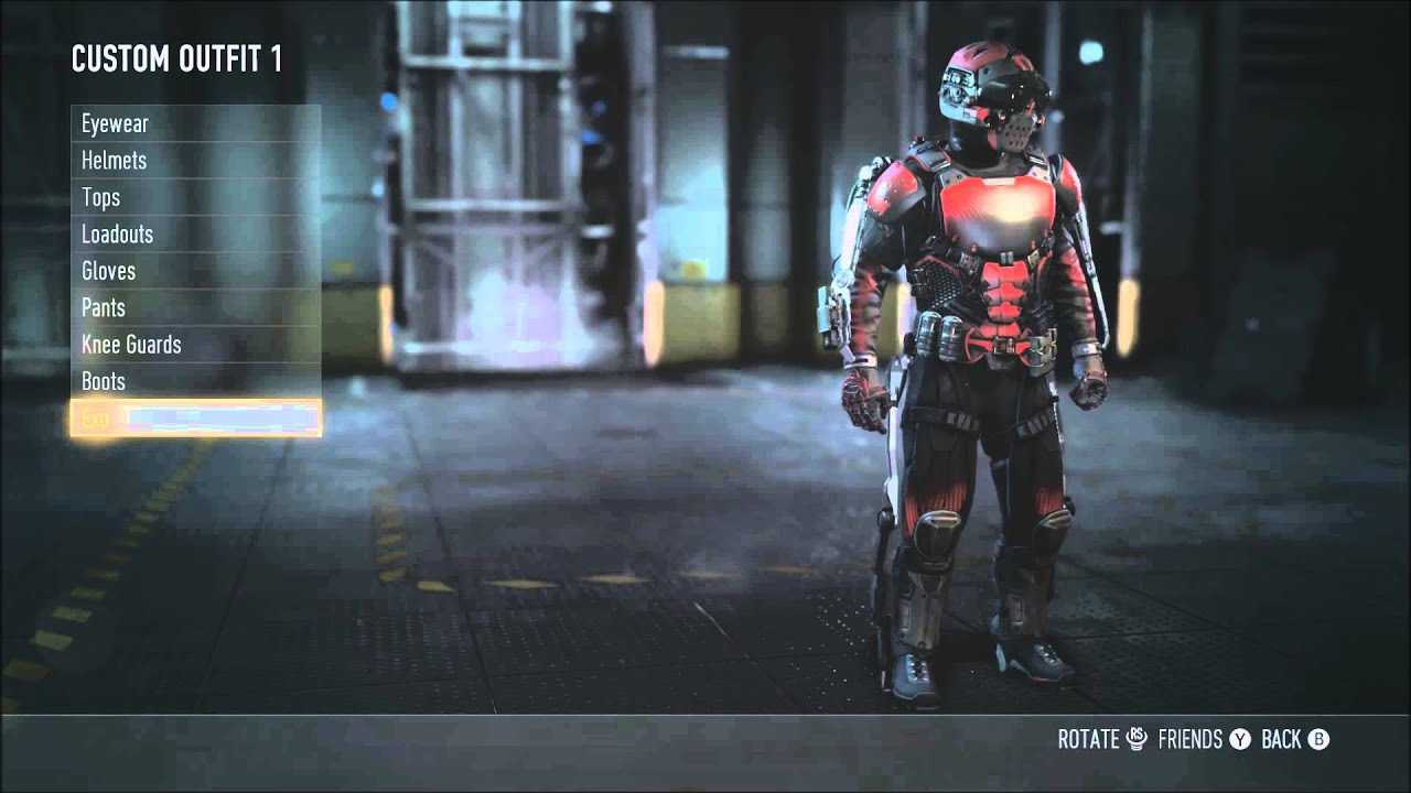 Armor in advanced warfare quot how to unlock the full bloodshed armor