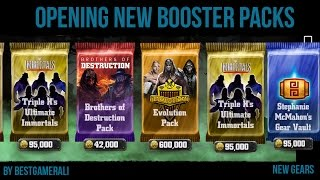WWE Immortals Opening New Booster Packs