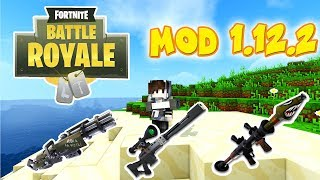 FORTNITE MODS - ARBUSTO + ARMAS FOR MINECRAFT 1.12.2