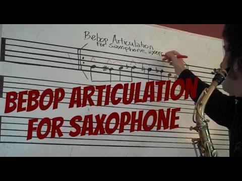 Saxophone_Bebop Articulation