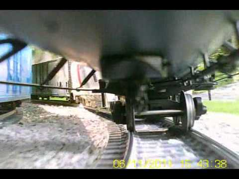 Train Camera Fun – Garden Railroad Train Ride