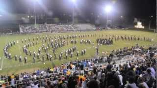 Walker Valley High School Mustang Marching Band September 28, 2012