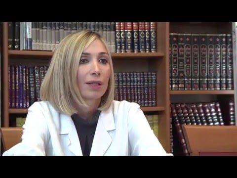 Ospedale Israelitico Di Roma: Video Intervista Alla Dott.ssa Manuela Carrera